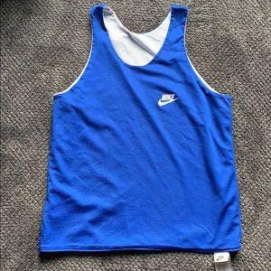 vtg 90s Nike Reversible Swoosh Basketball Jersey